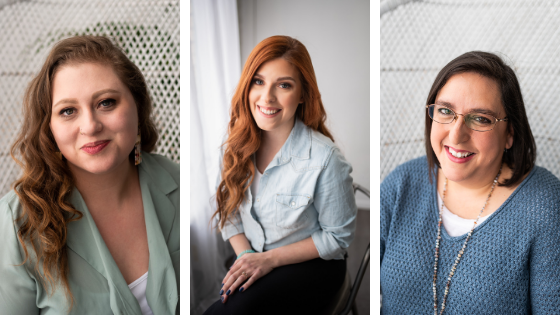 Three doulas headshots
